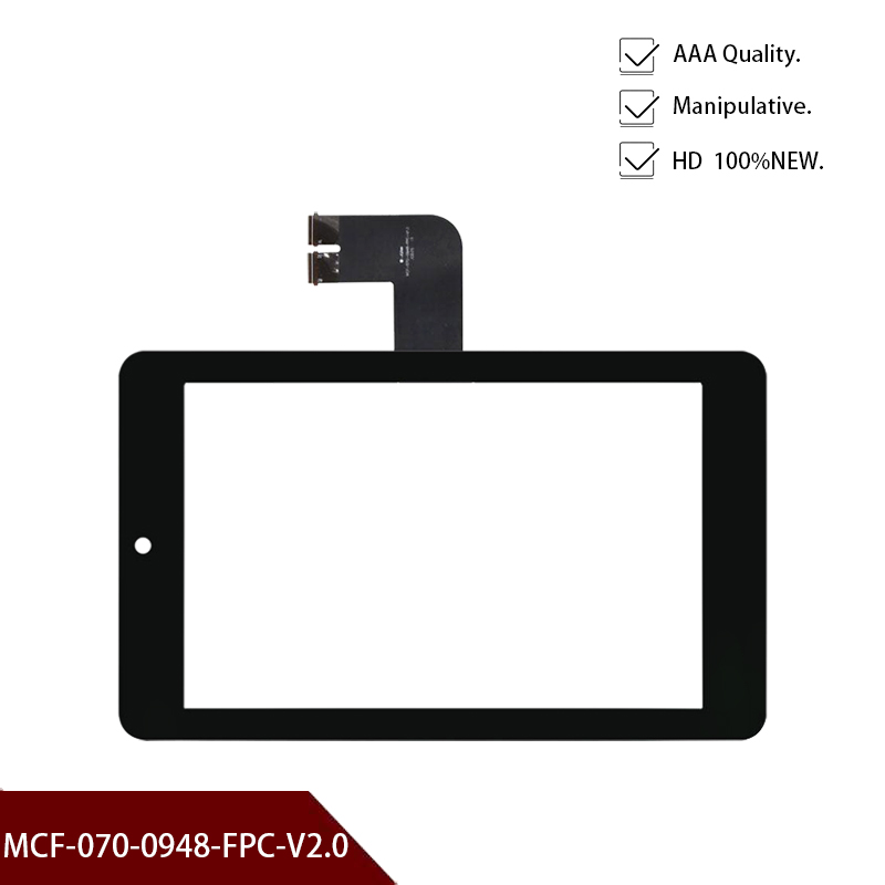 Black Original New For Asus MeMO Pad HD 7'' Inch ME173 ME173X K00b Screen Replacment MCF-070-0948-FPC-V2.0 Free Shipping