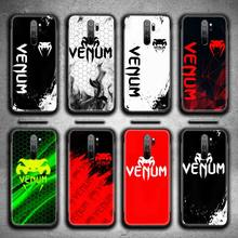 Fighting Fitness VENUM Logo Phone Case for Redmi 9A 9 8A 7 6 6A Note 9 8 8T Pro Max K20 K30 Pro