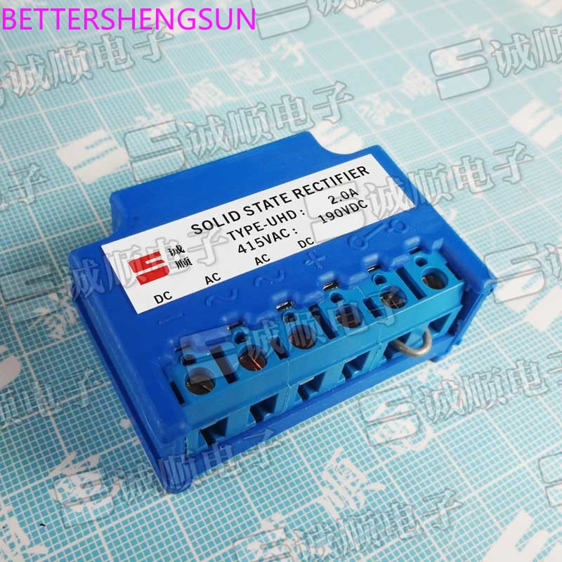TYPE-UHD 2.0A 415VAC 190VDC SOLID STATE RECTIFIER