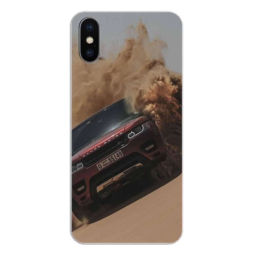 Silikon telefon kabuk kapak için Apple iPhone 4 4S 5 5S 5C SE 6 6S 7 8 X XR XS artı MAX Range Rover Evoque İnanılmaz araba posteri