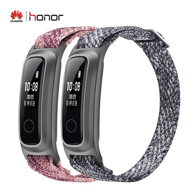 Huawei reloj inteligente Honor Band 5 resistente al agua, 2 modos de uso, para correr