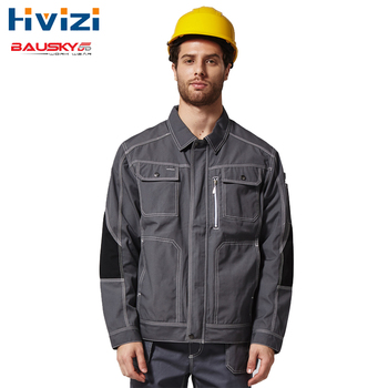 Mechanic Construction Working Jacket For Men Work Clothes Workwear Uniforms Mens Working Coat Jacket Free Shipping free shipping work wear set male tooling uniform customize lf 102 long sleeve mechanic jacket and engineer jacket page 2