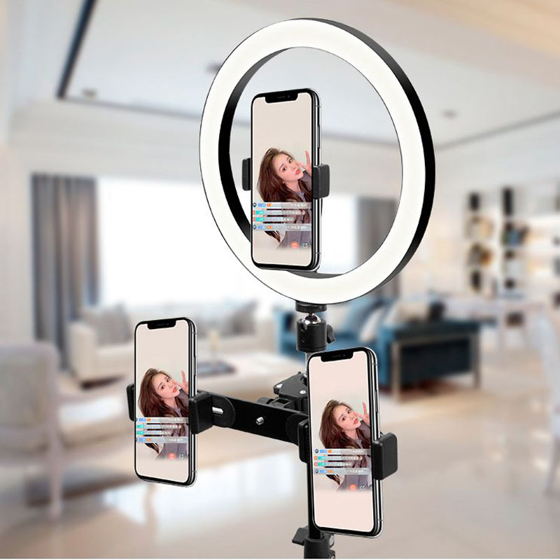 cheapest Beauty Selfie Led Light Camera Phone Photography Selfie Light for Xiaomi iPhone Sumsang Smartphone not included the battery