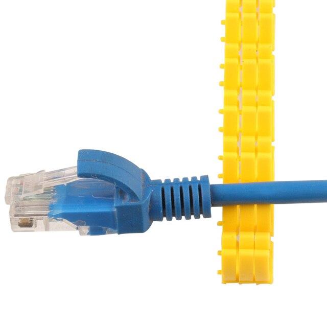 Plastic cable marking clip m-0 m-1 m-2 m-3 alphabit cable marking AZ cable size 1.5 SQMM yellow cable insulation cable marking 4