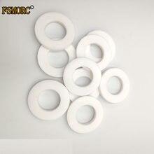 Id3 ~ 630mm od11 ~ 690mm thk 0.5/1/1.5/2/2.5/3/3.5/4/5/11. anel de junta flange de 5mm ptfe branco liso, produto consumidor de junta da lavagem