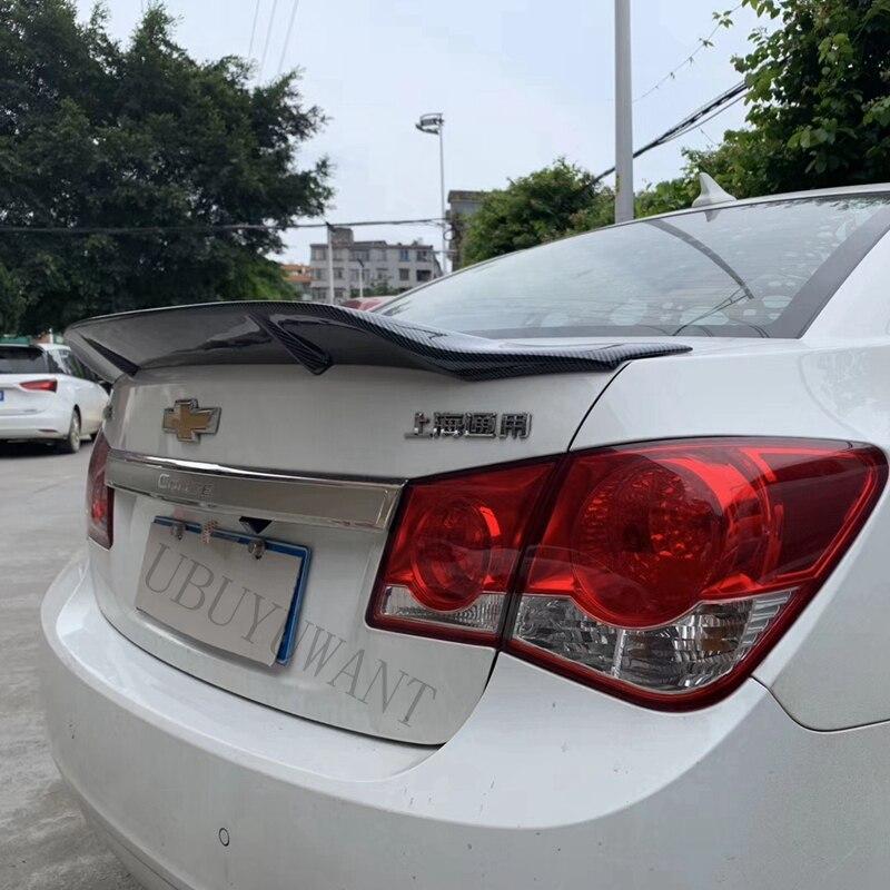 Подходит для Chevrolet Cruze 2010 2011 2012 2013 ABS/углеродное волокно внешний задний спойлер задний багажник загрузки крыло украшение автомобиля стиль