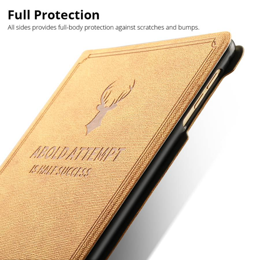 Deer Pattern PU Leather Case For Apple iPad 10 2 2019 Smart Stand Cover For iPad