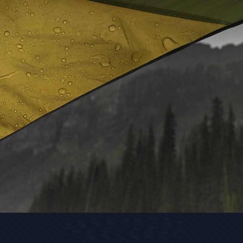 Ultralarge extérieur Anti Uv soleil abri Portable plage Pergola auvent auvent tente bâche abri pour plus de 8 personnes AA60635 - 2
