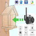 Mini IR Camera Motion Detection Night Vision Wifi Outdoor Cctv Onvif P2p Wireless Cam In Bird'S Nest And Cage House Camhi App