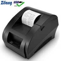 Imprimante thermique de position de Zjiang Mini imprimante de reçu de position d'usb de 58mm pour Resaurant la Machine de contrôle de facture de magasin de supermarché