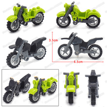 Military Motorcycle 2 Rounds Building Blocks Suv Figures Equipment World War Legion Car Moc Child Christmas Birthday Gift Toys