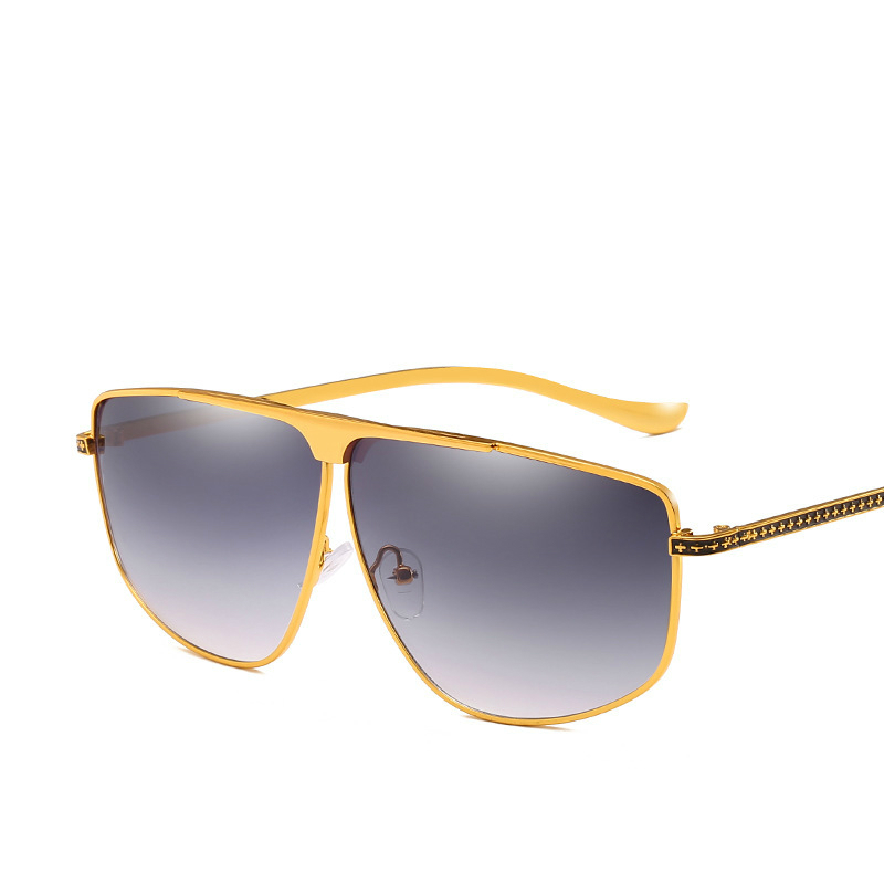 Male Women 39 s Personality Leg Metal Sunglasses Trendsetter General Purpose Pilot Sunglasses in Men 39 s Sunglasses from Apparel Accessories