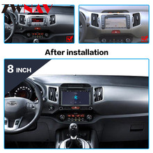 IPS Auto stereo Android 9.0 For Kia Sportage 3 4 SL 2010-2016 Car Radio Multimedia Video Player Navigation GPS 2din 2 din dvd BT