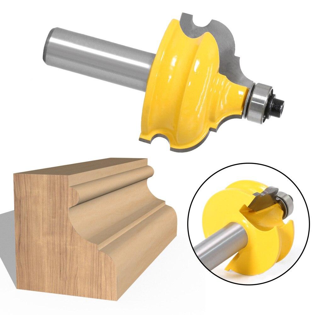 1/2 дюйма хвостовик резак для дерева классическая бусина литье фреза для отделки кромки фреза для деревообработки Bet снасти хвостовик