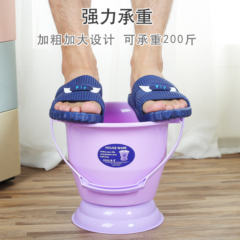 Urinal Pedestal Pan Adult Children Men And Women Plastic Old Man Spittoon Pregnant Women Urine Barrel Baby Small Chamber Pot Kid