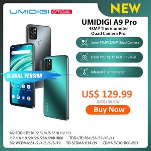 "Image 1 - UMIDIGI A9 Pro 32/48MP Quad Camera 24MP Selfie Camera 6GB 128GB Helio P60 Octa Core 6.3"" FHD+ Global Version Cellphone"