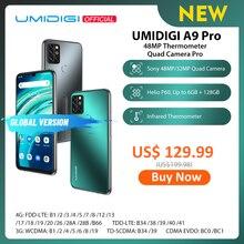 """Umidigi A9プロ32/48MPクワッドカメラ24MP selfieカメラ6ギガバイト128ギガバイトエリオP60オクタコア6.3 """"fhd + グローバルバージョンの携帯電話"""
