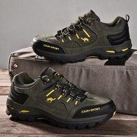 Высококачественные мужские походные ботинки осень-зима брендовые уличные мужские спортивные ботинки для трекинга, альпинизма водонепрони...