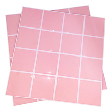 New pink wall tiles 10 sheets / package bathroom kitchen stickers self-adhesive tile marble back panel decoration