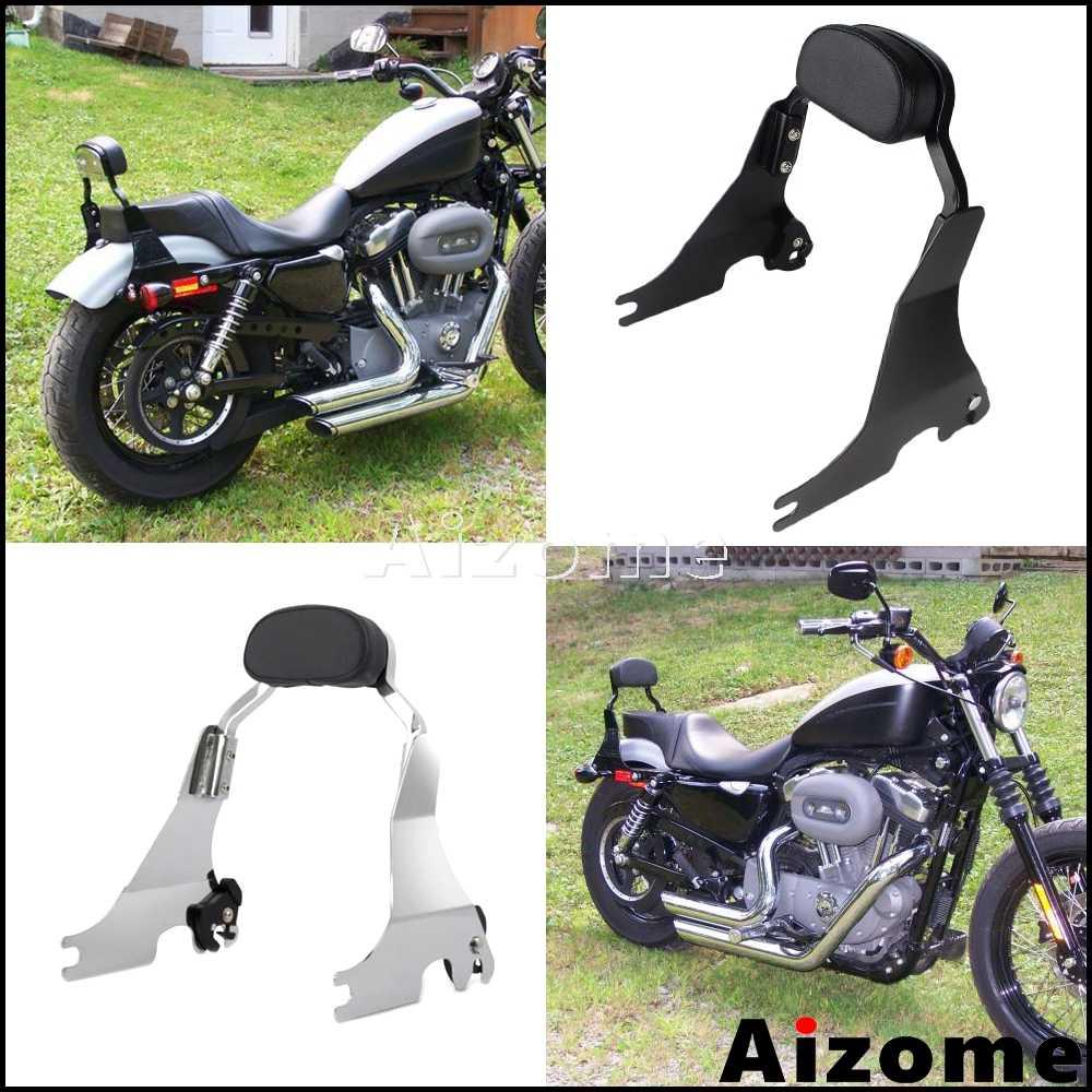 Motorcycle Backrest Docking Hardware Kit For Harley Sportster XL883//1200 48 72