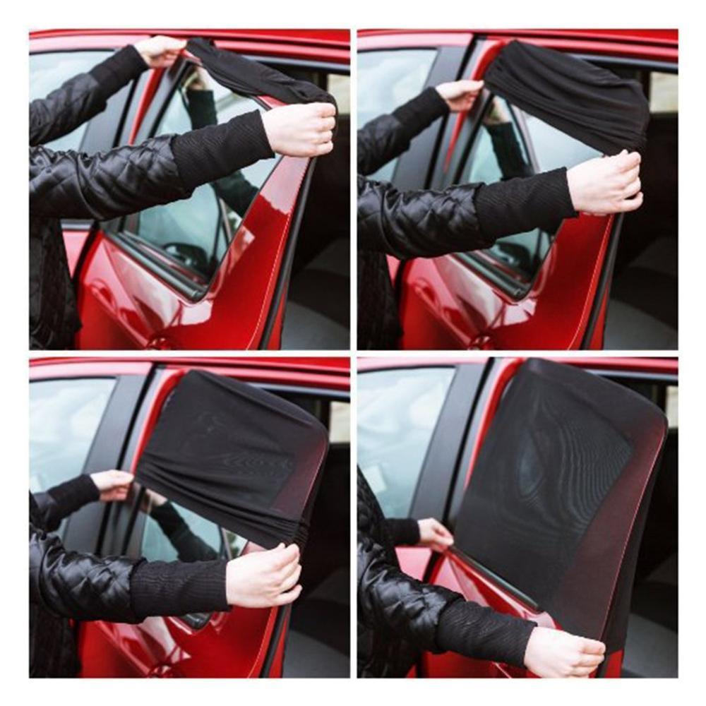 Автомобильный Черный марлевый сетчатый солнцезащитный экран с изоляцией окна солнцезащитный козырек автомобильный солнцезащитный козырек