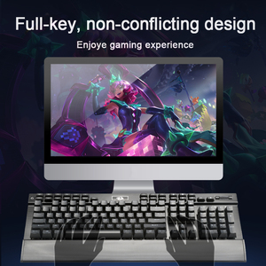 Image 3 - Redragon K550 alüminyum USB mekanik oyun klavyesi Rgb kırmızı mor anahtarı Diy ergonomik anahtar arkadan aydınlatmalı anti laptop PC Pro oyun
