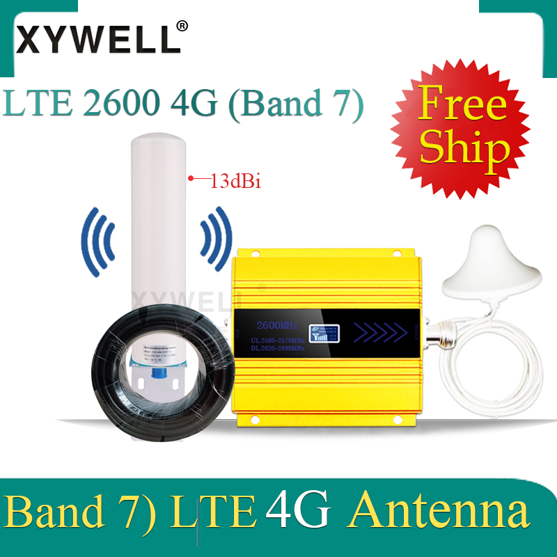 2600mhz 4G Signal Booster FDD LTE 2600mhz Band7 4G Mobile Signal Booster LTE 2600 4G Network Cellular Signal Repeater 4g Antenna