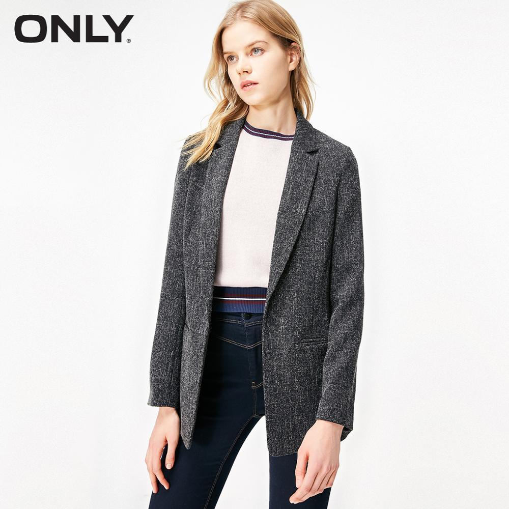 ONLY Women's Slim Straight Fit Blazer   119108510