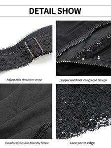 Image 5 - cinta modeladora para cintura emagrecimento corretor de Cintura formador shapewear corpo shaper bunda levantador espartilho para emagrecimento roupa interior corretiva virilha aberta cincher modelagem cinta faja