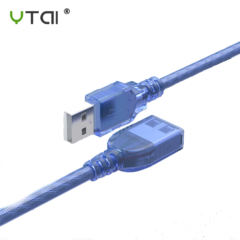 0.6m USB 3.0 Type A Male to Type A Male 6FT Extension Data Sync Cord Cable Blue