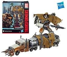 Hasbro transformadores estúdio série 34 classe deluxe movie4 megatron figura de ação modelo brinquedo ss34