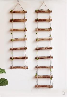 Nice Nordic Style Small Ladder Wall Decoration Hanging Escalera Madera Decorativa Terrific Value