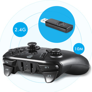 Image 2 - EasySMX ESM 9110 Wireless Gamepad Joystick For PC Windows 10 Android Phone TV/TV Box PS3 Vibration LED Customized Buttons