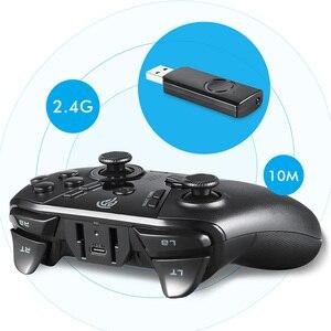Image 2 - EasySMX ESM 9110 لوحة ألعاب لاسلكية عصا التحكم لأجهزة الكمبيوتر ويندوز 10 أندرويد الهاتف التلفزيون/صندوق التلفزيون PS3 الاهتزاز LED أزرار مخصصة