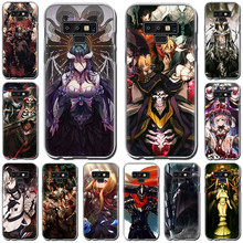 Overlord Anime Hard phone Case for Samsung A6 A7 A8 Plus A9 10s 20s 30s 40s 50s 60 70 Note 8 9 10(China)