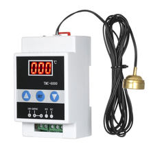 TMC-6000 110-240V Refrigeration Home Cooling Heating Electronic Temperature Controller LED Display Measuring Guide Rail Sensor(China)