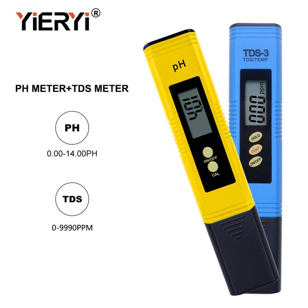 Yieryi Pena Digital Tds Meter Dan Ph Meter Test Untuk Aquarium Air