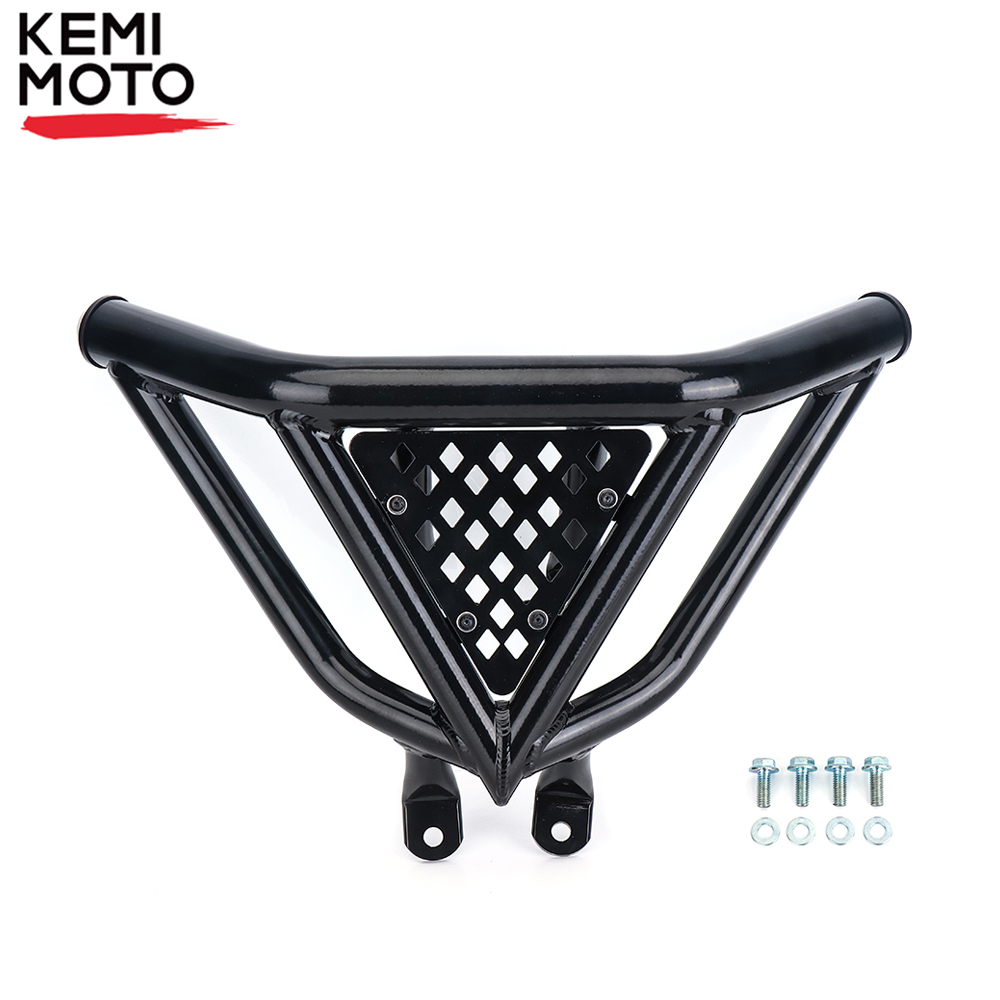 ATV Black Front Bumper Grab Bar Aluminum For Yamaha Raptor 700 2006-2019 2012 2013 2014 2015 2016 2017