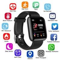 Reloj inteligente deportivo para hombre y mujer, smartwatch resistente al agua con control de ritmo cardíaco, Bluetooth con Android y iOS, perfecto para deporte al aire libre, unisex