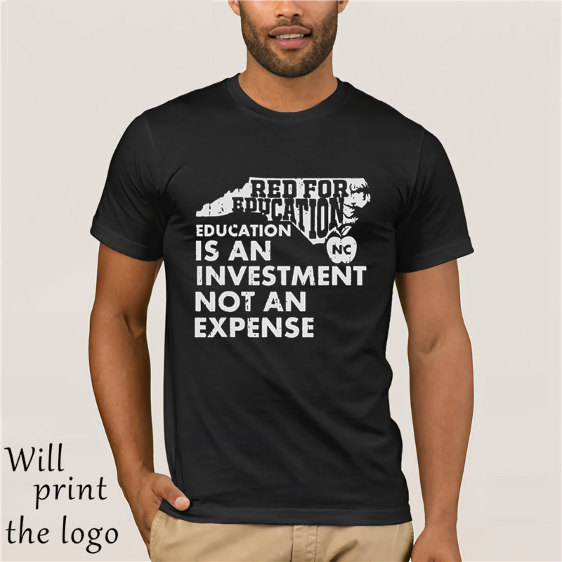 Education Is An Investment Not An Expense Red For Ed <font><b>NorthCarolina</b></font> Shirt image