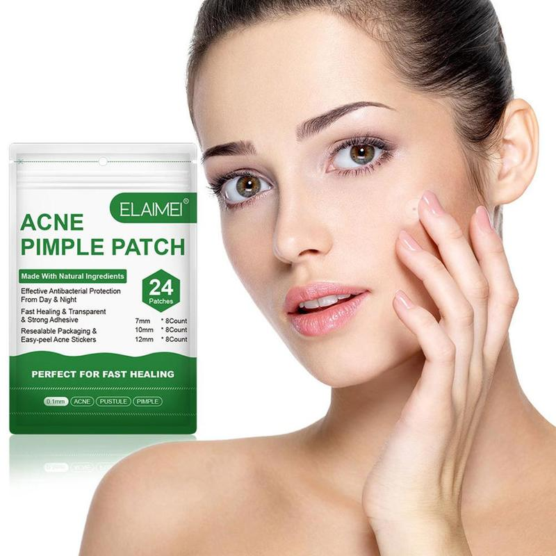 Invisible Acne Pimple Patch Can Absorb Acne Secretions Effectively Removal Acne Patches Fast Healing 24pcs