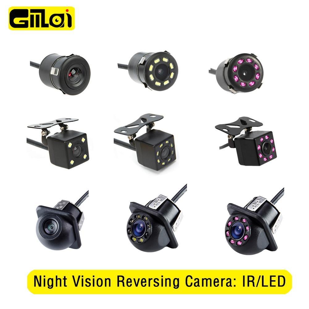 Gmai Night Vision Reversing Camera Rear View Parking Assistance HD LED IR Auto Monitor Waterproof CCD 170 degree