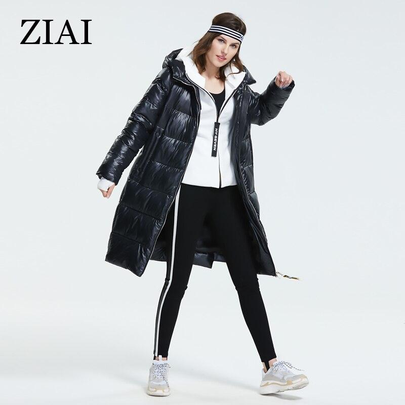 ZIAI Women Winter Coats with Hood, Long Down Jackets for Women, Plus Size Womens Winter Coats, Womens Parka Coats