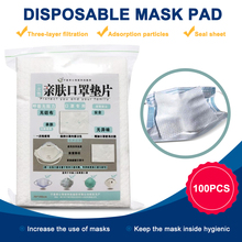 400pcs Universal Mask Respirator Filter Pads Disposable Antivirus Smog Prevention For  Mask Pads Changable Pads 50pcs mask replaceable filter pad disposable antivirus covid 19 smog prevention hot