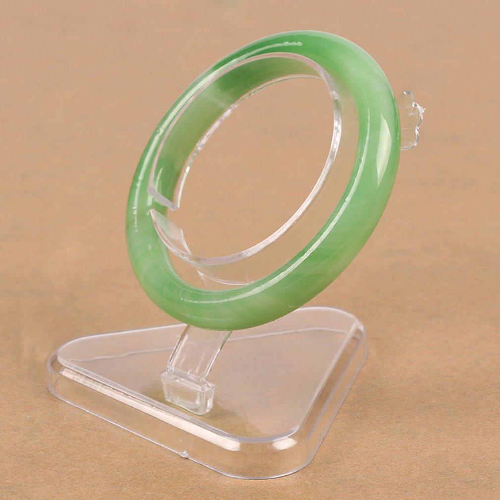 2020 Hot Sale Acrylic Jade Bracelet Display Stand Transparent  Bracelet Watch  Jewelry Organizer Rack Showcase Holder
