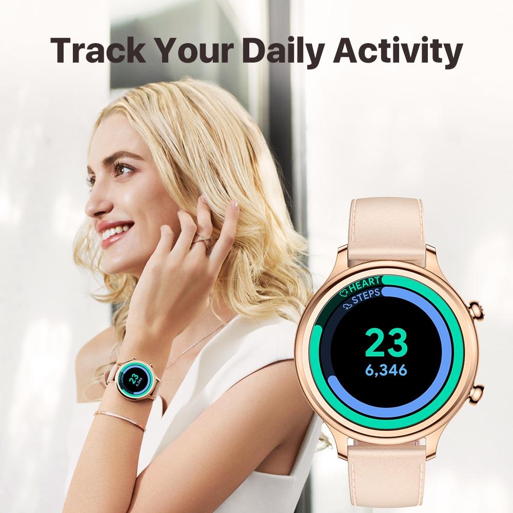 TicWatch C2 Plus Wear OS Smartwatch 1GB RAM Built in GPS Fitness Tracking IP68 Waterproof Watch