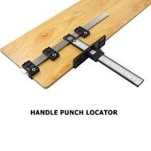 Centro ponche de guía de broca accesorios del armario plantilla fácilmente llevar ligero Gadgets para trabajar la madera Doweling