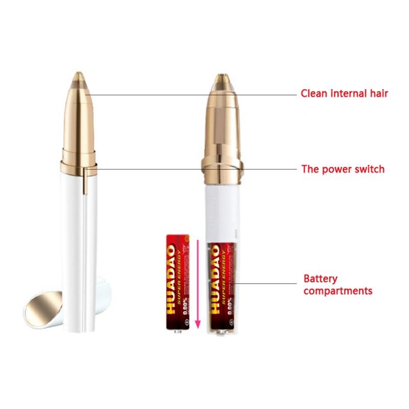 Eyebrow Epilator Maquiagem Profissional Comple Tryme 5