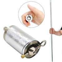 1.1M Portable Pocket Walking Sticks Telescopic Pen Stick Retractable Protection Metal Walking Sticks Dropshipping HOt Sale