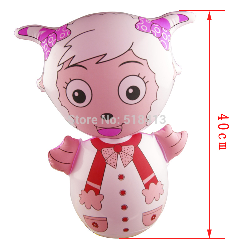 Animal Inflatable Inflatables Children Toy Inflatable Tumbler Animal Shape Tumblers Game Play Toys Pvc Birthday Fun Gifts 2020